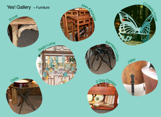 Yes Gallery's furniture items.